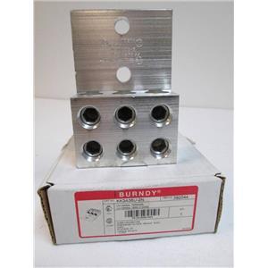 "BURNDY KK3A36U-2N Universal Terminal Wire Connector Stud Size 1/2""  392044"