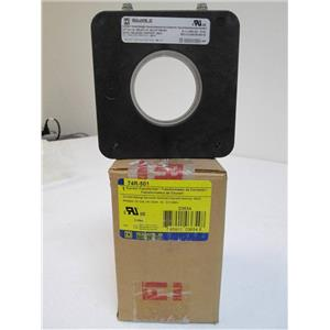 Square D 74R-501 Current Transformer 600V Class 25-400Hz Ratio 500:5 03654
