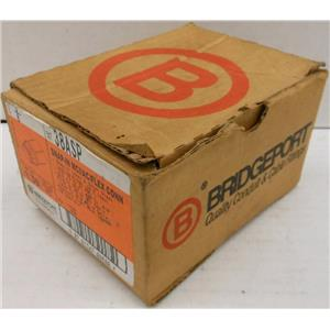 *BOX OF 9* BRIDGEPORT 38ASP FLEXIBLE METAL CONDUIT WHIPPER-SNAP SNAP-IN CONNECT