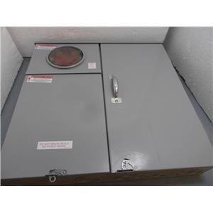 Milbank U214MTBPL MTR/MN Combo W/Load Center Meter Socket New