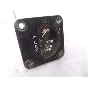 Beech Aircraft Flap Position Indicator, Ideal Precision Meter 59.6150