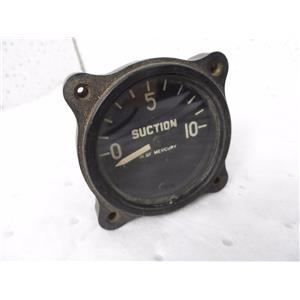 United States Gauge Co. AW 1 7/8-L Suction Indicator P/N AW 1 7/8-L