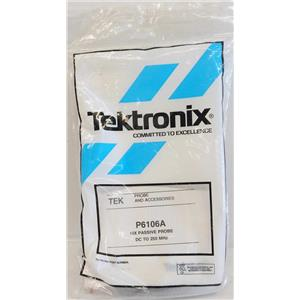 TEKTRONIX P6106A 250MHz 10X PASSIVE VOLTAGE PROBE, TEST LEAD FOR OSCILLOSCOP