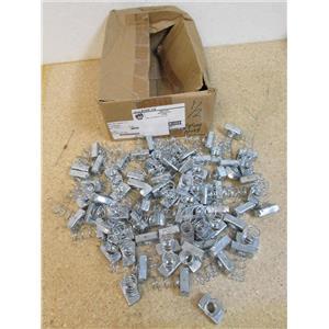 100 Thomas & Betts A100 1/2 Regular Spring Nuts w/ Steel Galvanized Zinc Finish