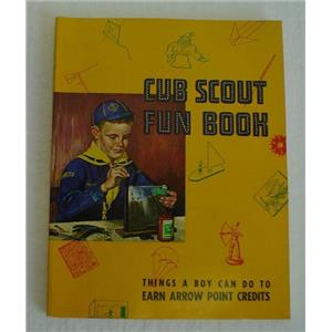 Vintage 1956 Cub Scout Fun Book