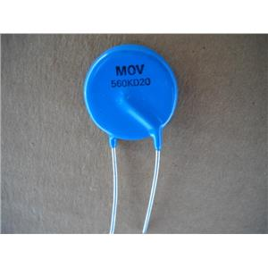 Varistor Mov 560KD20 Surge Control 20MM New Lot Of 25