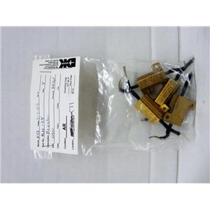 *LOT OF 4* RH-25 RESISTORS, AIRCRAFT AIRPLANE AVIATION AVIONICS REPLACEMENT PAR
