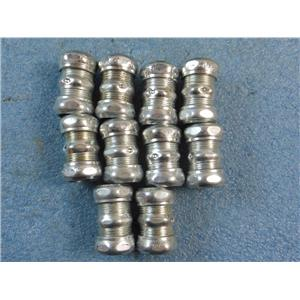 "Topaz 662S 3/4"" EMT Couplings - Compression Type - *Lot of 10*"