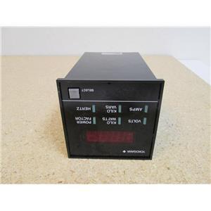 YOKOGAWA 2354 30 (3-Phase 3-Wire) 64LM0020 50/60 Hz 4.5 VA Max. 240V 600A *USED*