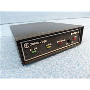 Cetec Vega Orator III Microphone Transmitter/Receiver  Frequency 170.245