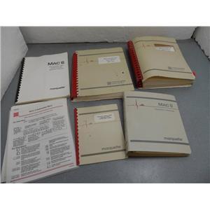 Marquette Mac 6  & Option 45G Service Manual Set