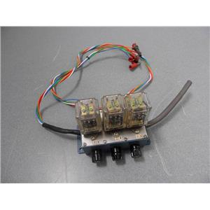 Floatless Level Switch? With Three Omron MK2EP-UA-AC120 Relays