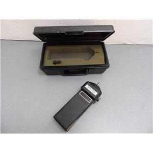 Tak-Ette Power Instruments RPM Meter With Case