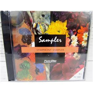 "PIANODISC PD19901 SYMPHONY SAMPLER 3.5"" FLOPPY DISC  - NEW"
