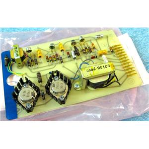 MAGNASYNC MOVIOLA 62136 MONITOR AMPLIFIER AMP, CIRCUIT BOARD CARD MODULE FOR RE