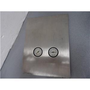 VideoJet Instrumentation Panel With Pressure And Vacuum Gauges No Part Number