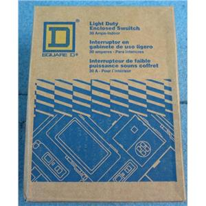 Square D 30A Indoor Light Duty Enclosed Switch L211N