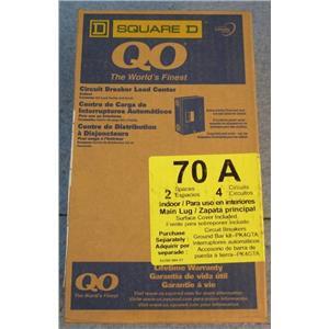 Square D QO 70A Indoor Circuit Breaker Load Center QO24L70SCP