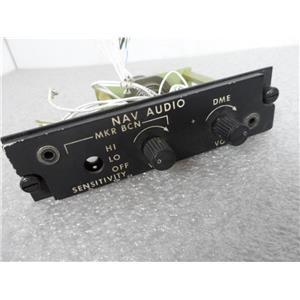 Aircraft NAV Audio Unit P/N 212-077-166-003