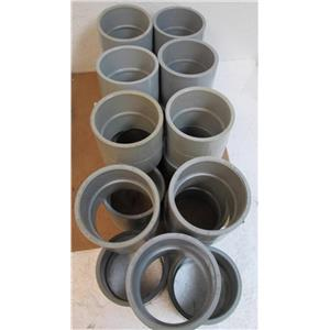 """Lot of 19 SCEPTER EC-45  3""""  PVC Coupling  **Used & New**"""
