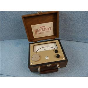 Alnor Instrument Thermo-Anemometer Type 8500 No. 5269 Air Velocity Meter