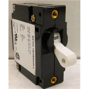 EATON HEINENMANN JA1S-A8-A-0015-10E CIRCUIT BREAKER, 15A 250VAC, 15 AMP 250 VAC