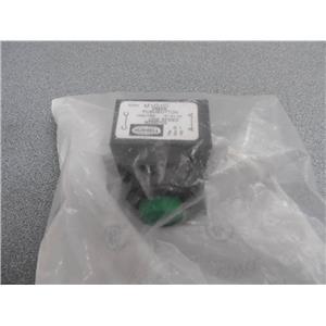 Hubbell M1G1G Switch P/N 80320102 Green PB NO/NC New In Package