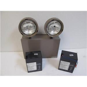 Lithonia Titan Series Battery-Powered Emergency Lighting Unit, Steel 12V 50W