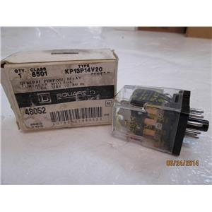 Square D General Purpose Relay Class 8501 Type KP13P14V20 Series D