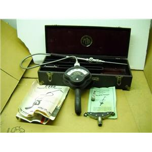 Vintage Pyro Pyrometer With Original Case/Probes/Manual