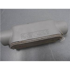 "Appleton Unilet 1 1/2"" C Conduit Body Form 35 New  Body / Used Cover"
