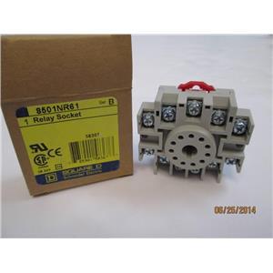 **Lot of 3** Square D Relay Socket 8501NR61 Series B