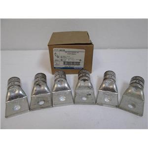 "Thomas & Betts 54118 One Hole Copper Lug Short Barrel 1/2"" Bolt Hole Box of 6"