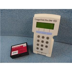 Roche Diagnostics Coaguchek Pro DM W/PTN Electronic Quality Control