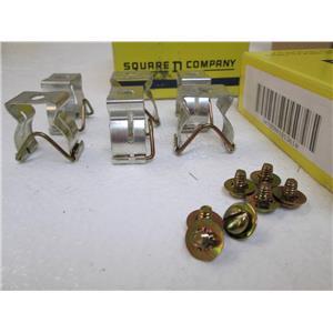 SQUARE D 9999S1  Fuse Clip Kit  Ser. A  30Amp   250V   81361   Class H  NIB