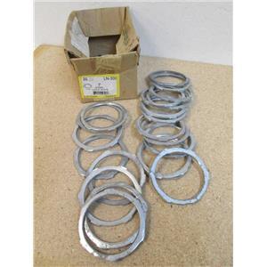 """Box of 21 DOTTIE LN300   3"""" Steel Lock Nuts - To Secure Conduit  ** Used Lot**"""