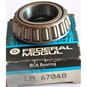 "FEDERAL MOGUL BCA LM 67048 TAPERED ROLLER BEARING 1.250"" x 2.328"" x 0.62 NEW"