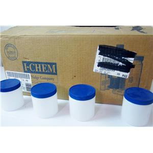 *BOX OF 42* I-CHEM 05719245 WIDE MOUTH ENVIRONMENTAL JARS, 300 SERIES, HDPE, PO