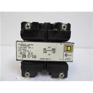 Square D Type K50D4 Industrial Control Transformer Class9070 Series A