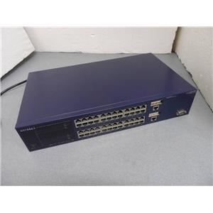 Netgear FSM750S 48 Port 10/100 Mbps Managed Stackable Switch With 2 GBIC Ports
