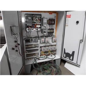 Rain Bird Pump Station Control Panel With Enclosure Rainbird Watering System