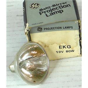 GE GENERAL ELECTRIC EKG PROJECTION LAMP 19V 80W