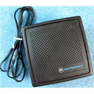 MOTOROLA HSN4005A SPEAKER FOR 2-WAY RADIO CAR/DESK/ETC INSTALL - USED w/GUARANT