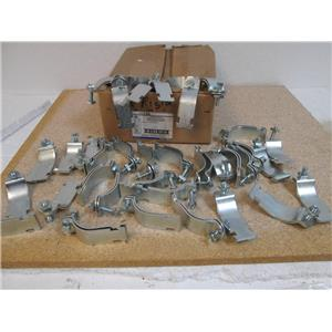 T & B THOMAS & BETTS 702 2 EG 2-Pc Straps - Electro Galvanized - Box of 33