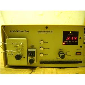 LDC/Milton Roy Spectromonitor D Wavelength Detector