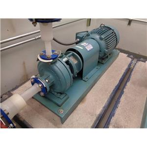 ITT A-C 731 Plus Pump with Teco AEHEXX 15 HP Motor on Vibration Platform
