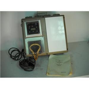 Oakite 893 P.H. Control System W/Manual