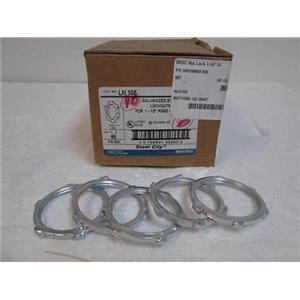 """39  New Steel City  LN105 Thomas & Betts 1-1/2"""" Steel Locknuts for Rigid Conduit"""
