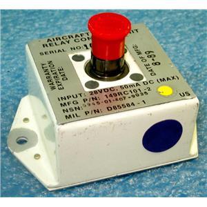 ACME URDC INC M00019-89-C-0097 5945-01-207-9035 D85584-1 AVIATION PART, ELECTRO