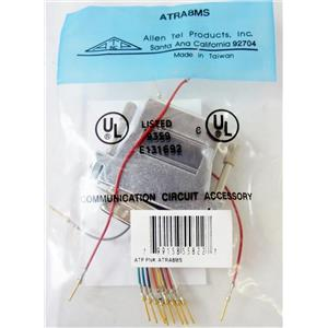 ALLEN TEL ATRA8MS CONNECTOR ADAPTER, SHIELDED DATA ADAPTER KIT, 8-CONDUCTOR JAC